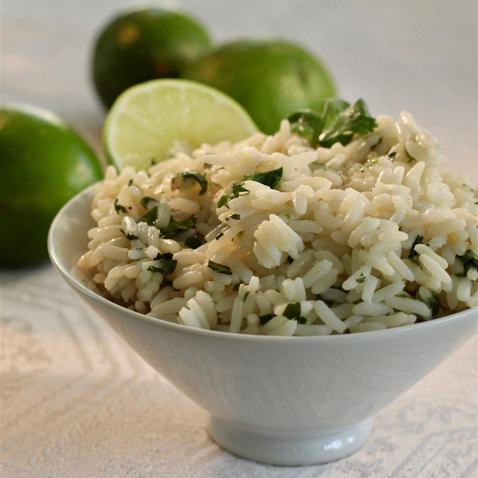 Lime Cilantro Rice lutzflcat