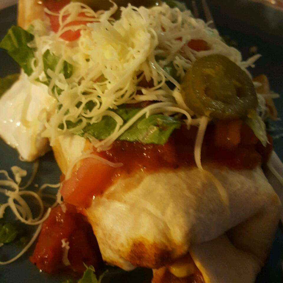 Beef and Bean Chimichangas Shelby Brim Wilkes