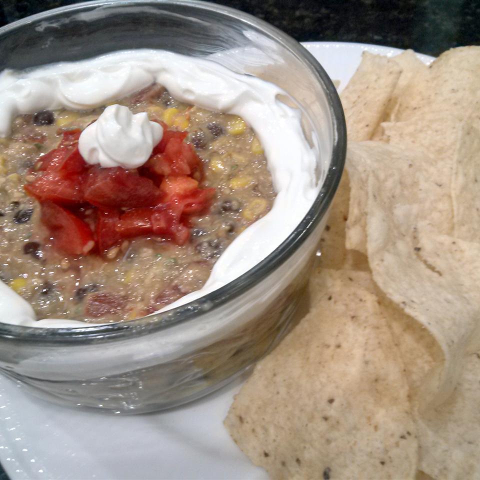 Black Bean and Corn Guacamole Qhhunters