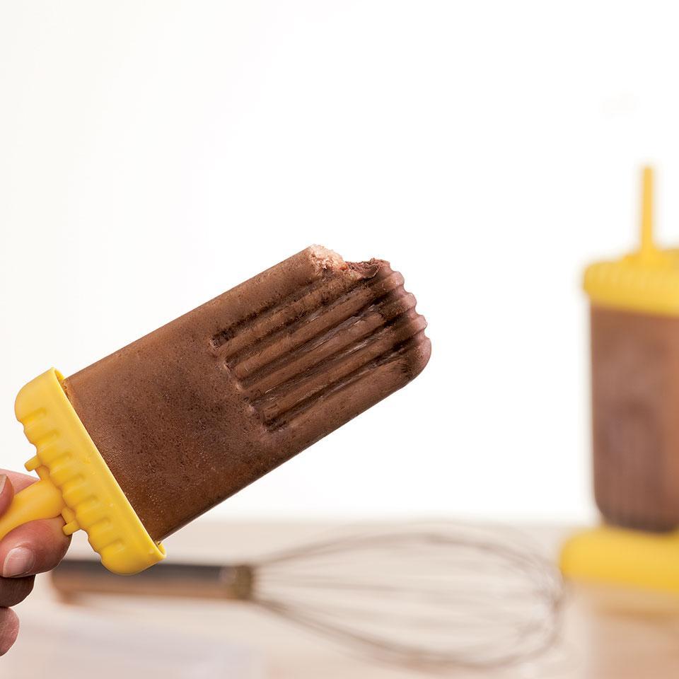Mocha Ice Pops EatingWell Test Kitchen