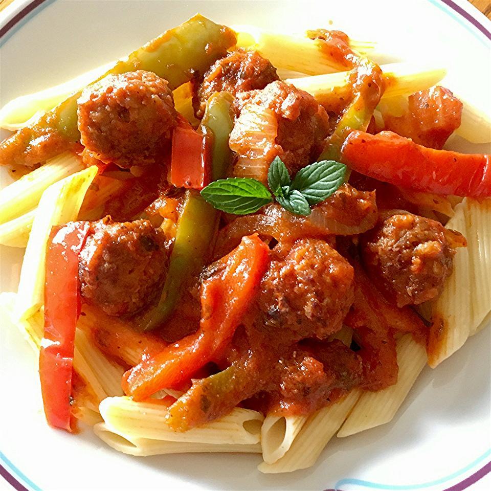 Italian Sausage Penne Yoly