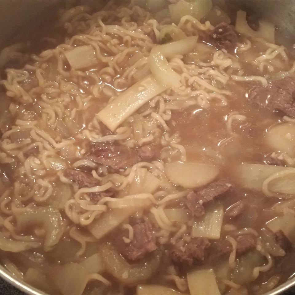 Quick Asian Beef Noodle Soup Dawn Marshall