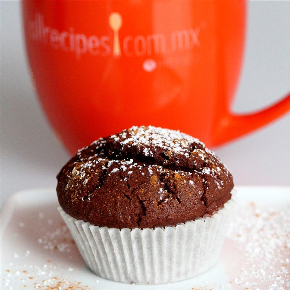 Rice Flour Mexican Chocolate Cupcakes (Gluten Free) ilkaisha