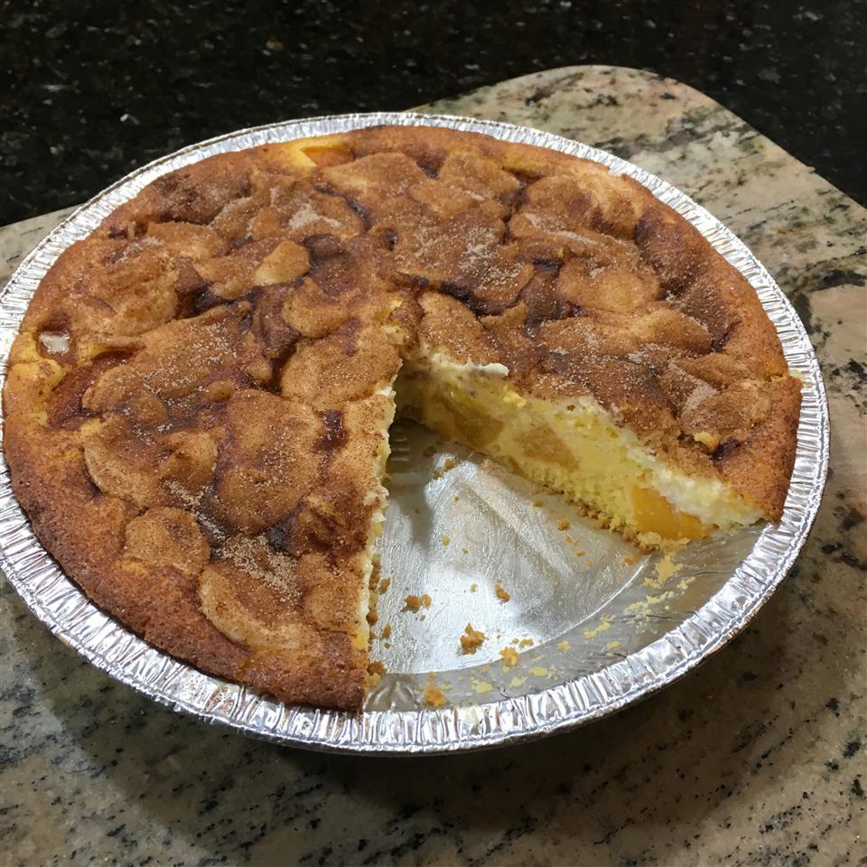Award Winning Peaches and Cream Pie Dinner Date