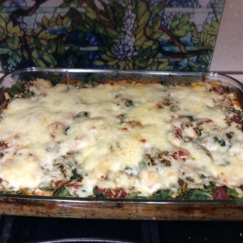 Go Back for Seconds Quinoa Lasagna Anna Pamperin