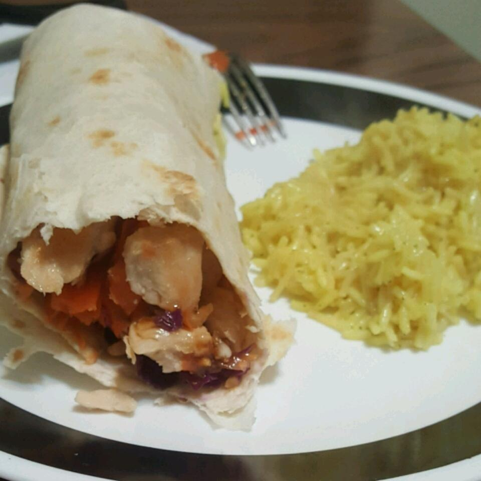 Teriyaki Chicken Wraps Land O'Lakes