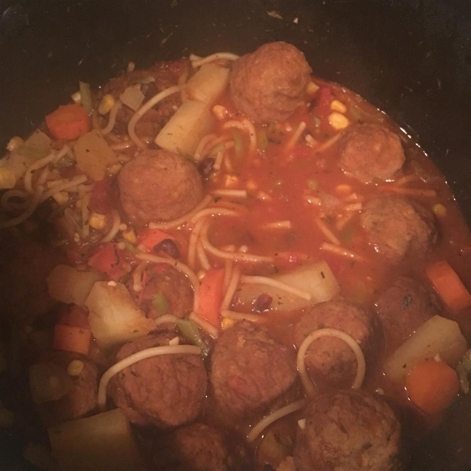 Quick, Homemade Hamburger Soup Melanie Rodriguez