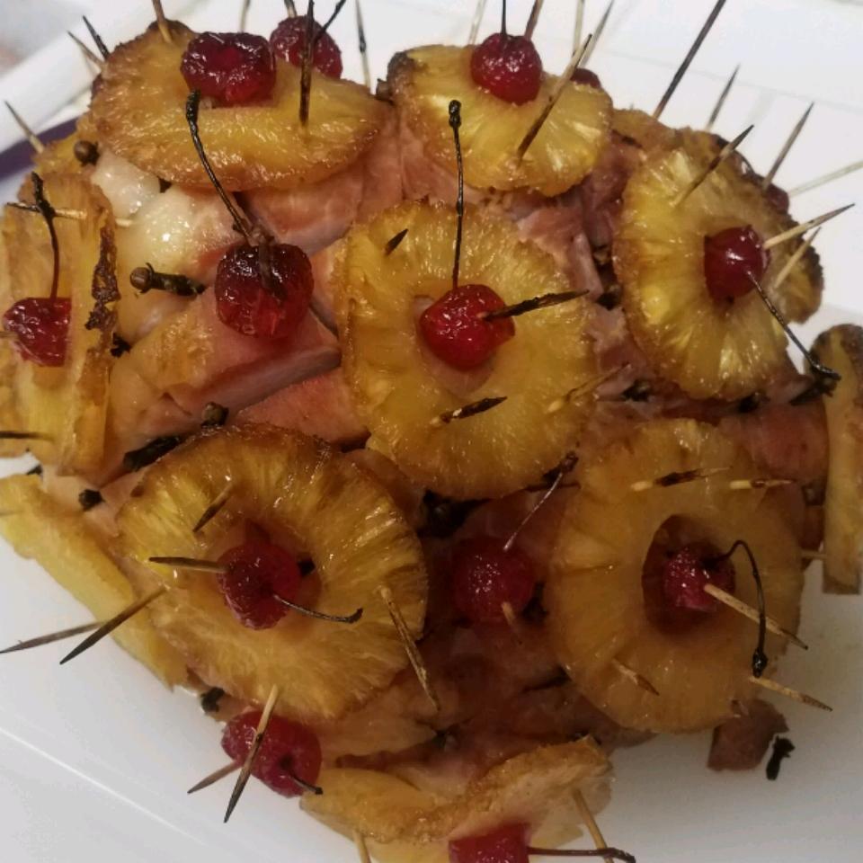 Pineapple Brown Sugar Glazed Ham Jeanetta Carlton