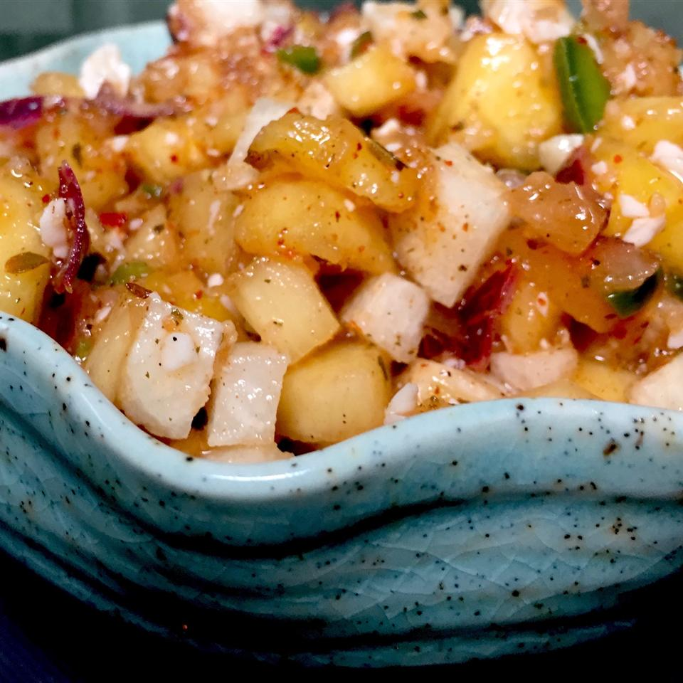 Hawaiian Ham and Pineapple Salsa stormybeach