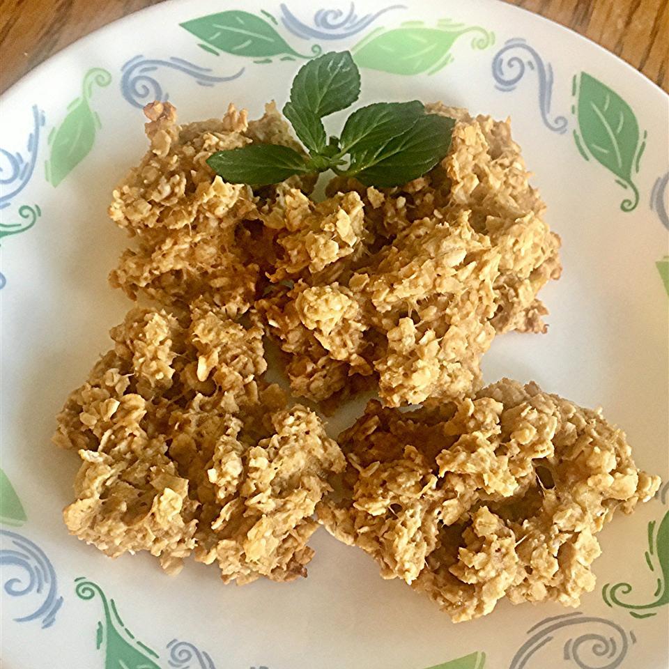 6-Ingredient Banana Oat PB Breakfast Cookies