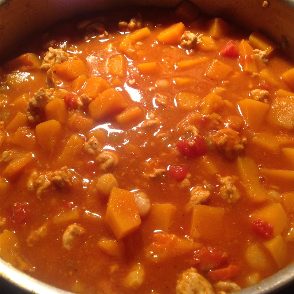 Butternut Squash and Turkey Chili Ginny DeCoster