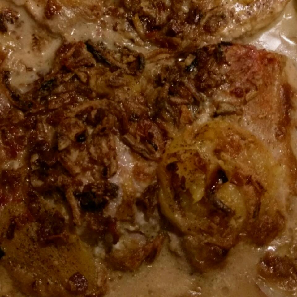 Potato and Pork Bake