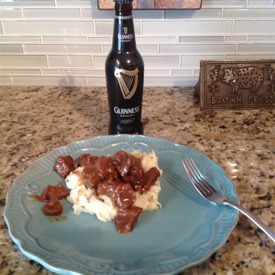 Beer Braised Irish Stew and Colcannon