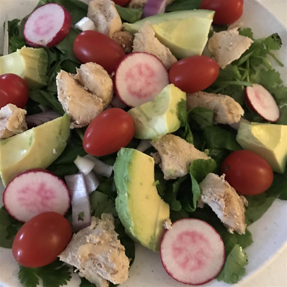 Chicken Avocado Salad lovelifeparties