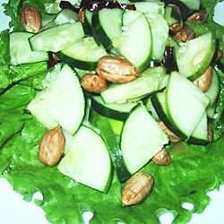 cucumber peanut salad recipe
