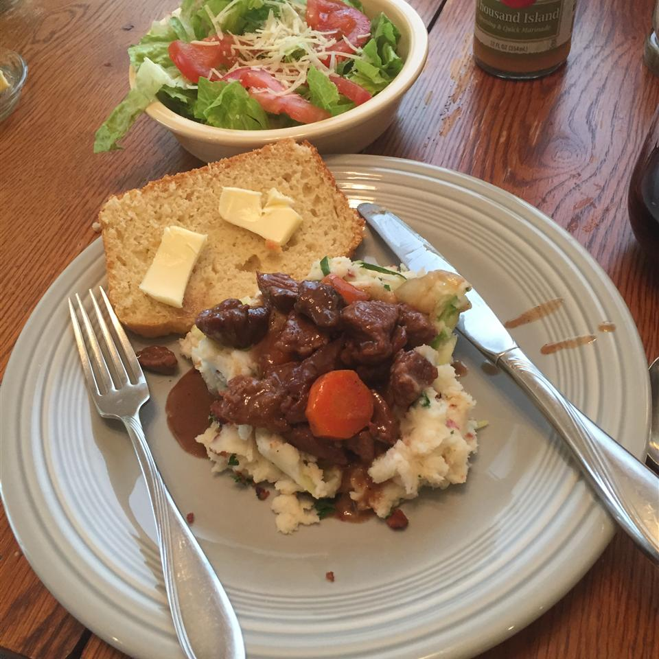 Beer Braised Irish Stew and Colcannon LindaW