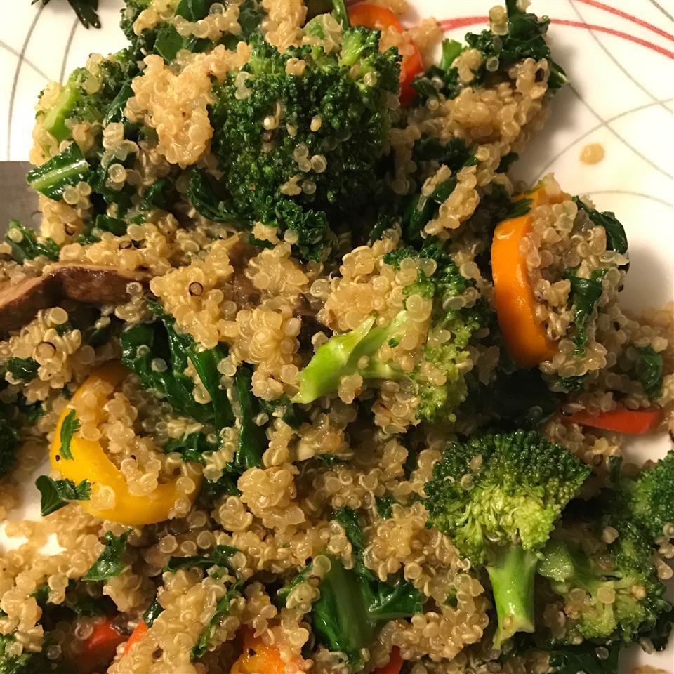 Skillet Quinoa Salad