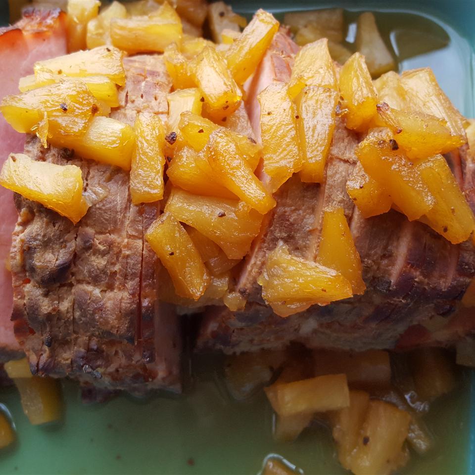 Sweet Pineapple Glaze for Ham