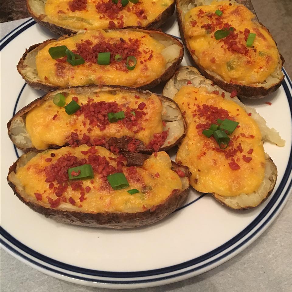 Cheesy Twice-Baked Potatoes Rachel Robinson