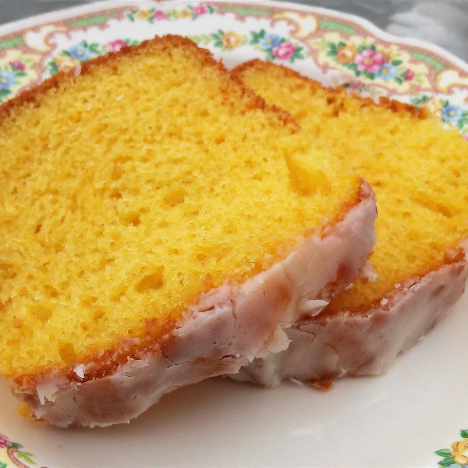This wonderfully simple lemon loaf cake uses lemon cake mix and lemon pudding mix for a light texture. The recipe makes enough for two loaves, so you could freeze one and top the other with a lemon or lime glaze for an added boost of citrus flavor if you wish.