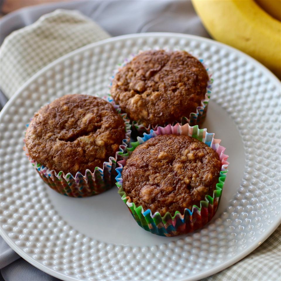 Sinfully Moist Banana Muffins