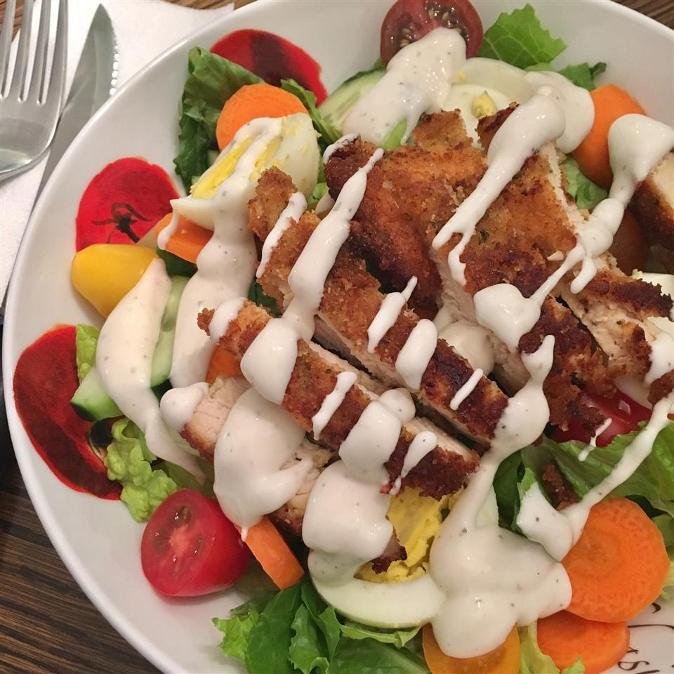 Fried Chicken Dinner Salad KZrod