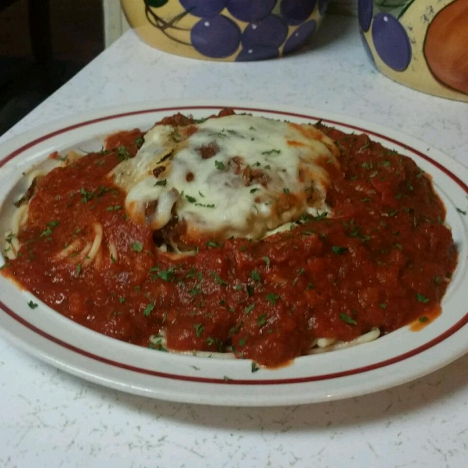 New & Improved Chicken Parmesan