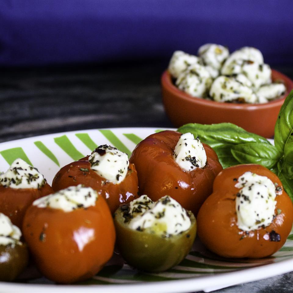 Fresh Mozzarella Stuffed Cherry Peppers Janet Henderson