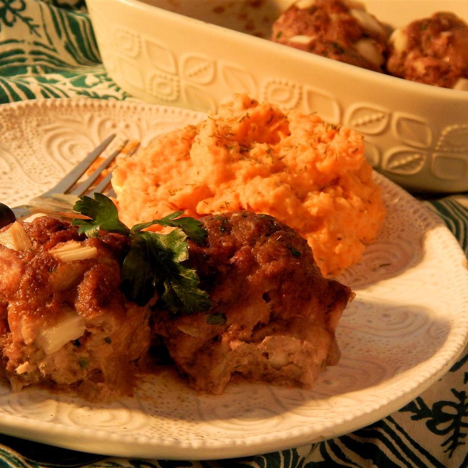 Buffalo Turkey Meatballs Linda T