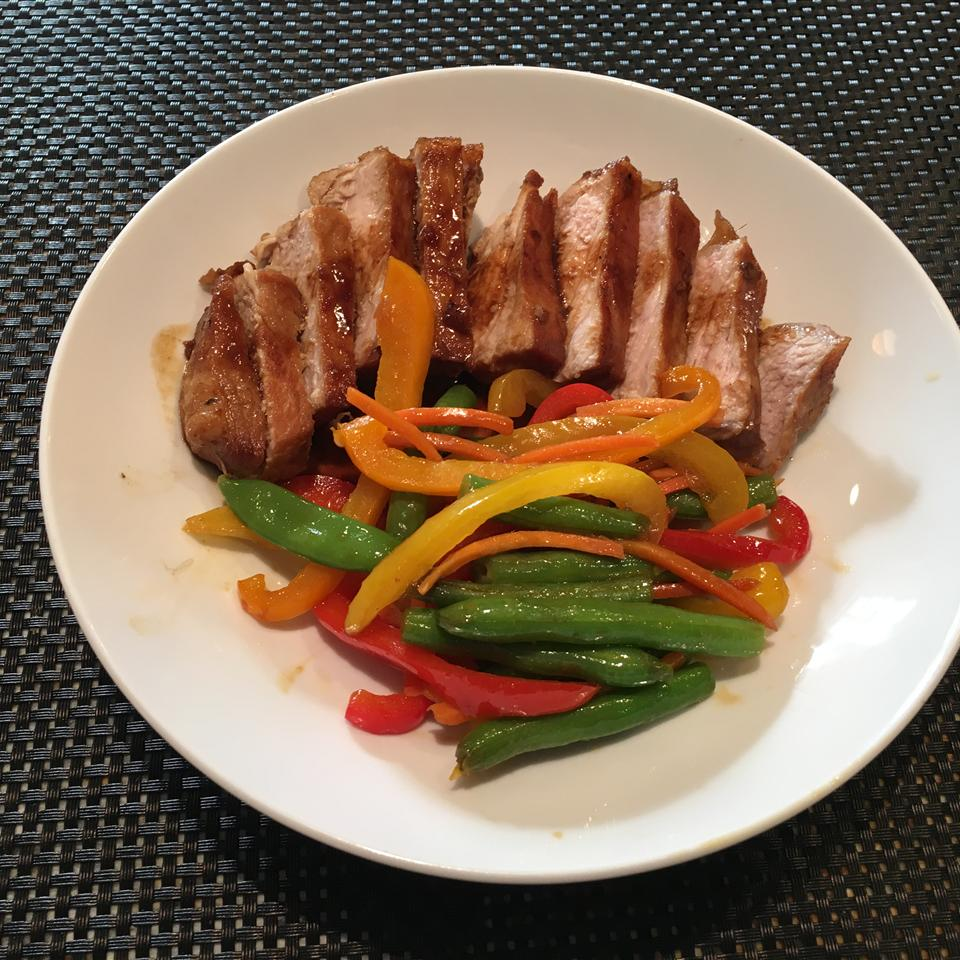 Easy Teriyaki Chops Dan Bauer