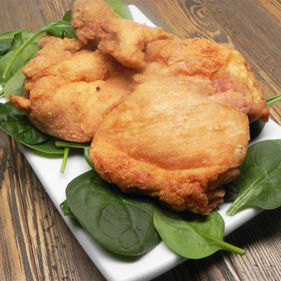 Easy Skinless Fried Chicken Thighs