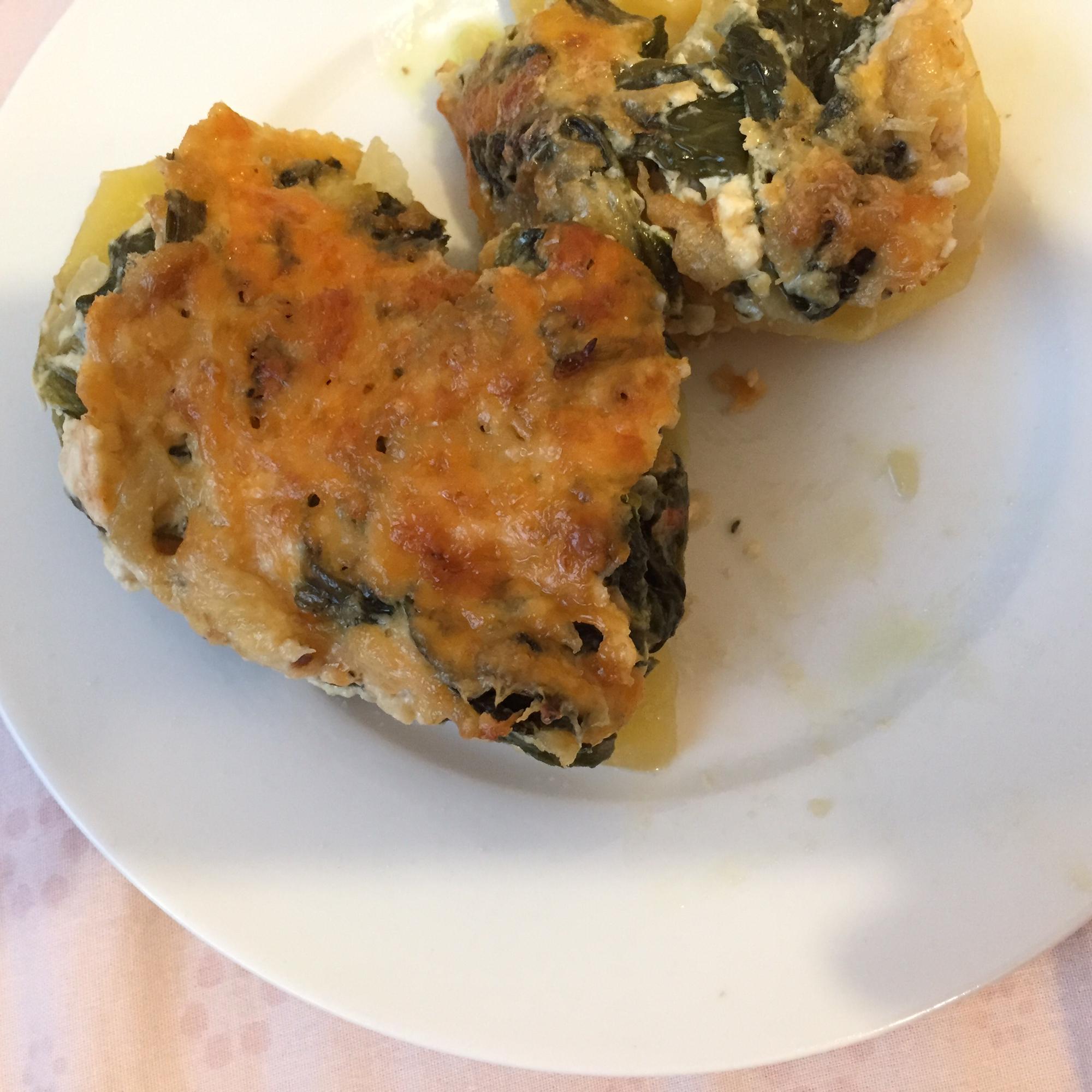 Spinach Potatoes Pary Khodaei