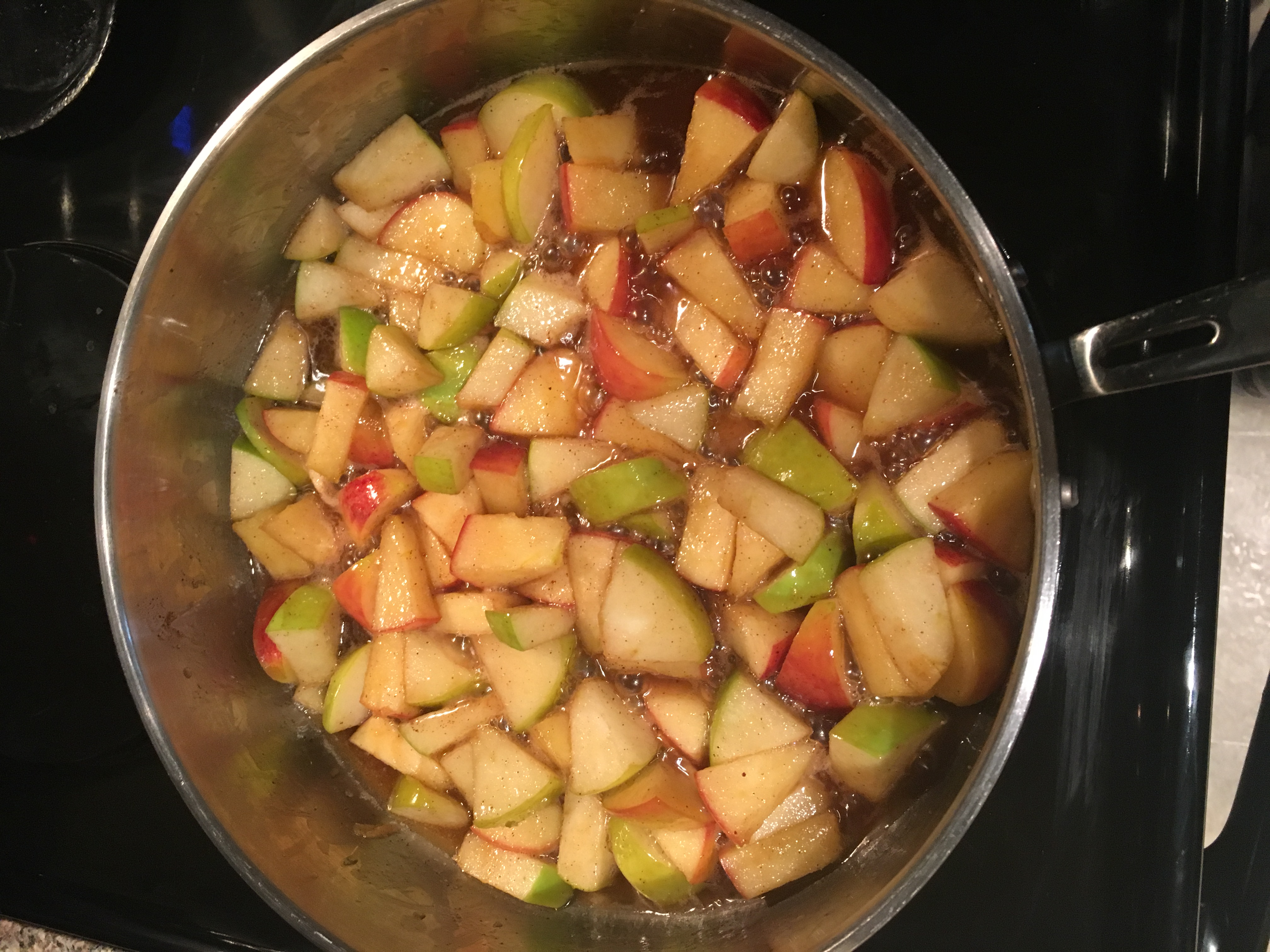 Skillet Apples with Cinnamon
