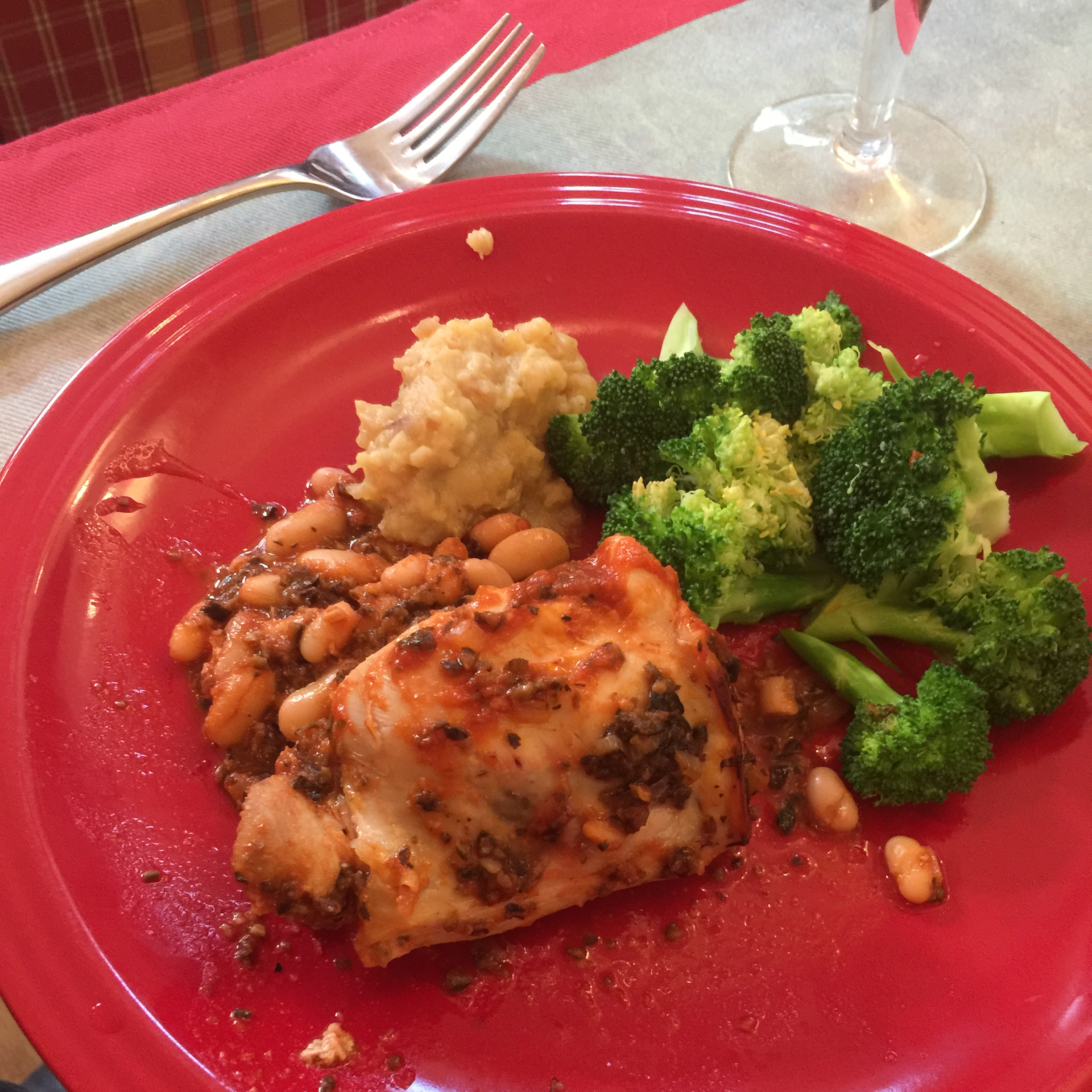 Tuscan Chicken David Sharp