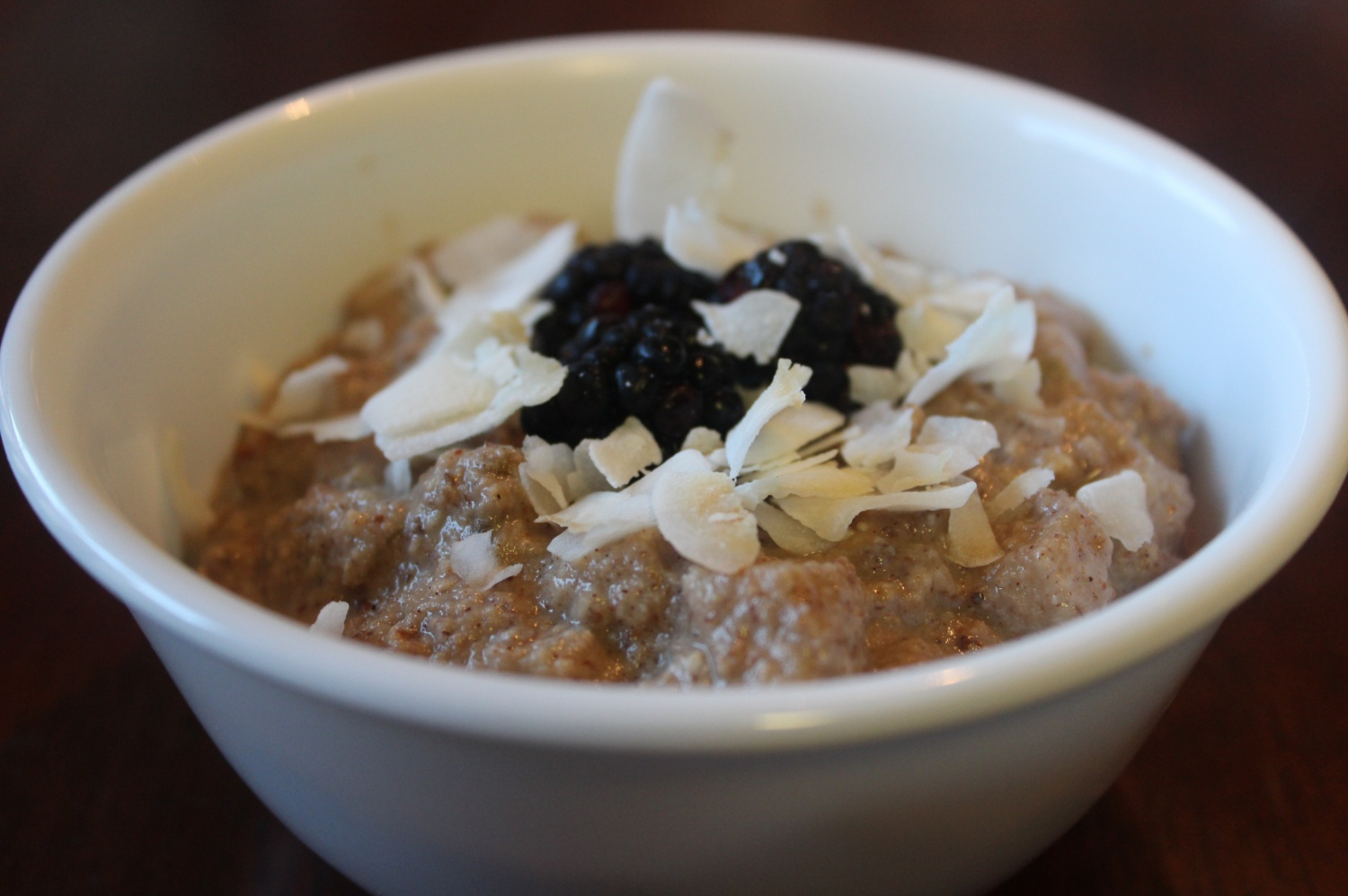 Paleo Oatmeal (Not Really Oatmeal At All)