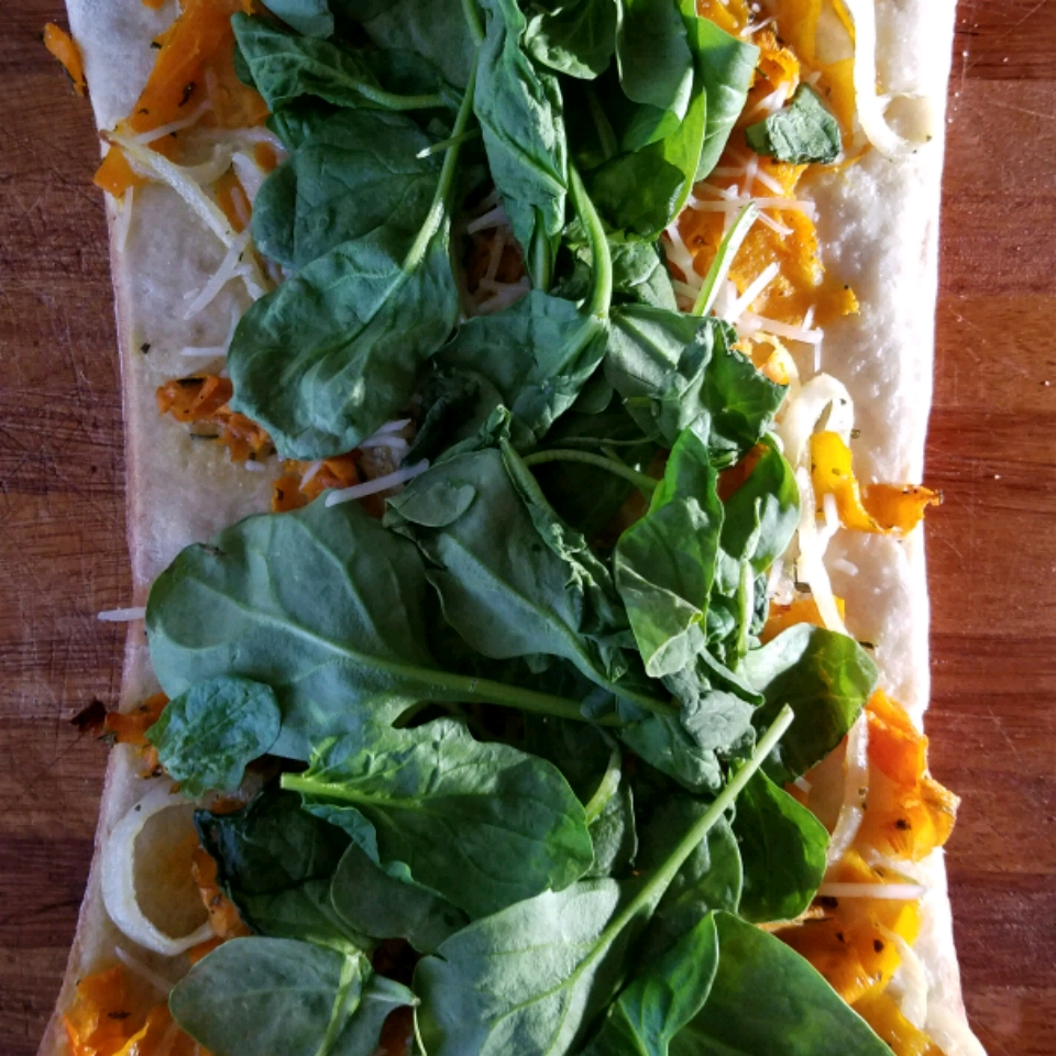 Butternut Squash Pizzas with Rosemary FluffyStuff