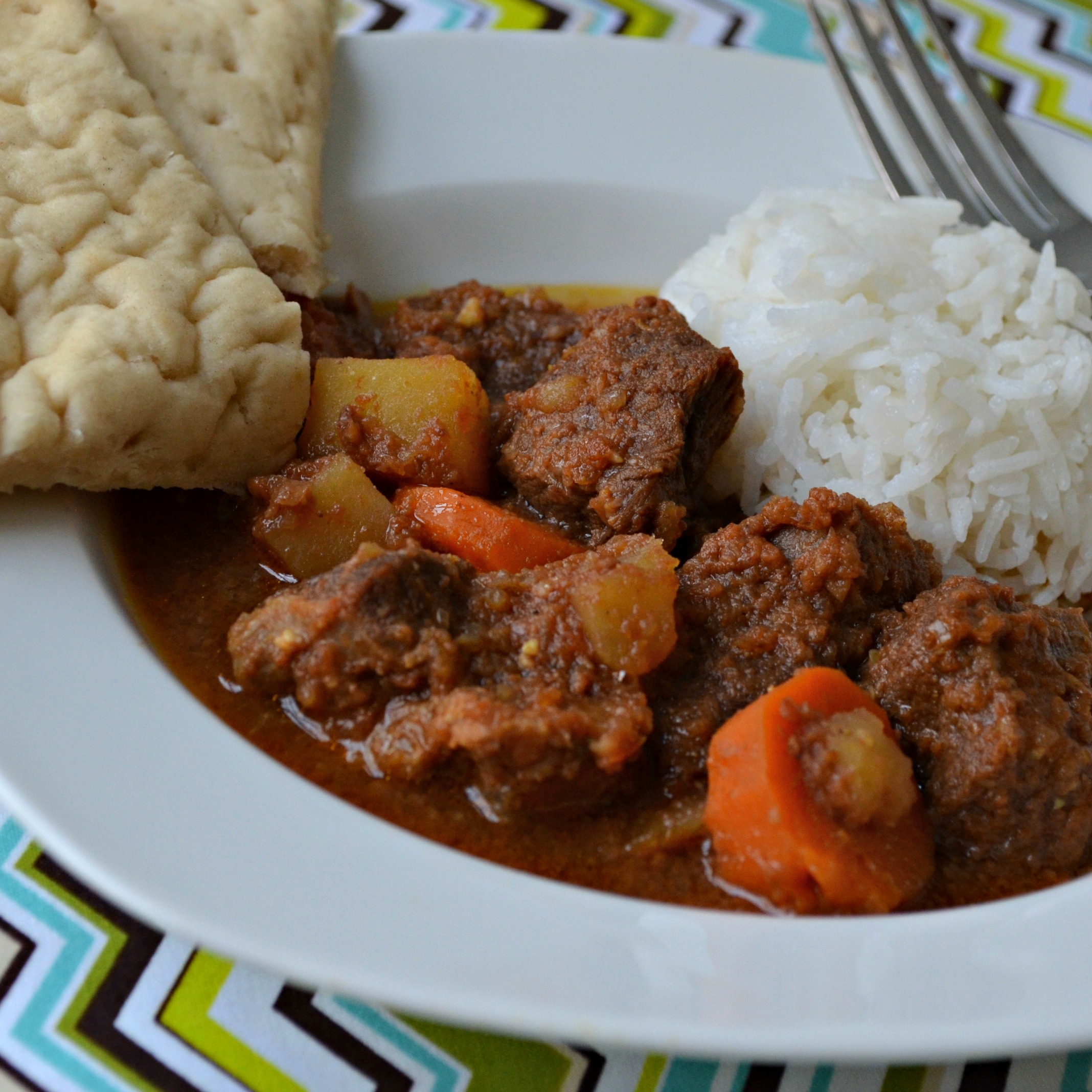 Pressure Cooker Goat Curry