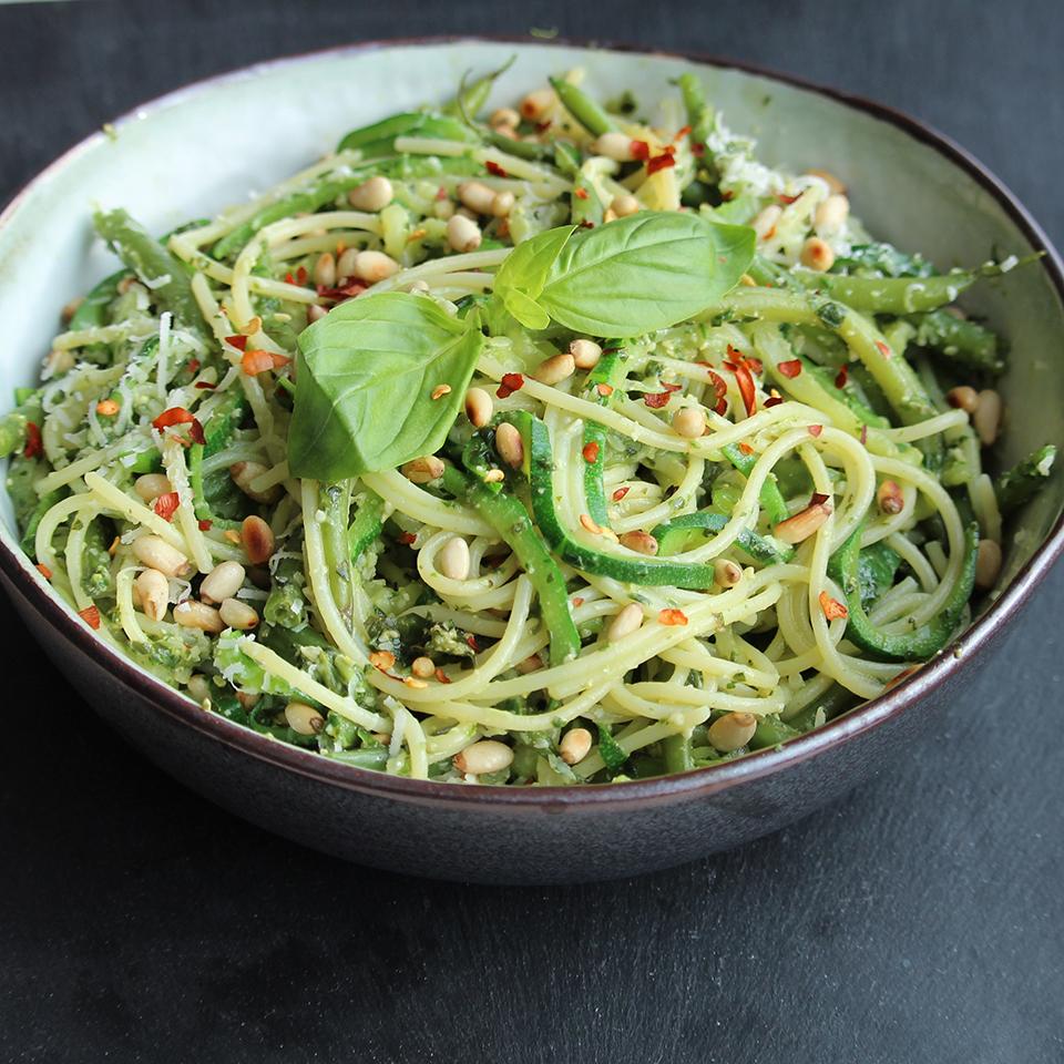 Green Goodness Spaghetti