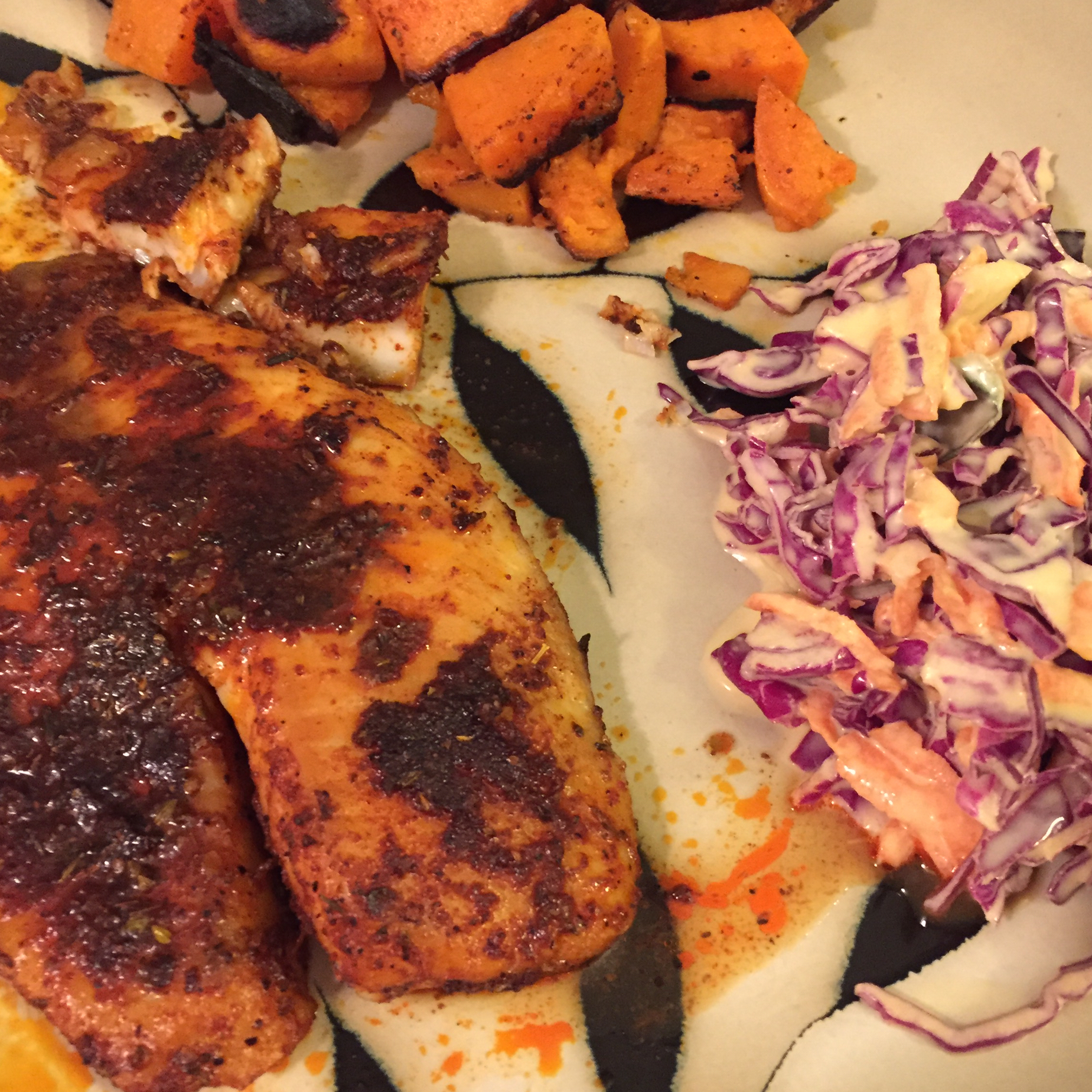 Blackened Tilapia with Secret Hobo Spices