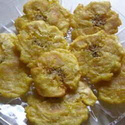 Tostones (Fried Plantains) Casablancaise
