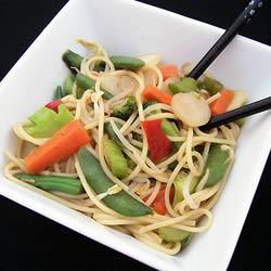 Vegetable Lo Mein Delight SNAZZYSNIDER