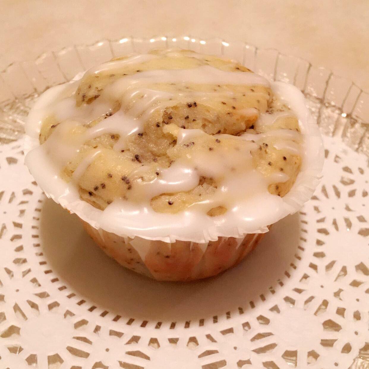 Lemon Poppyseed Muffins with Lemon Glaze Julien Goolien