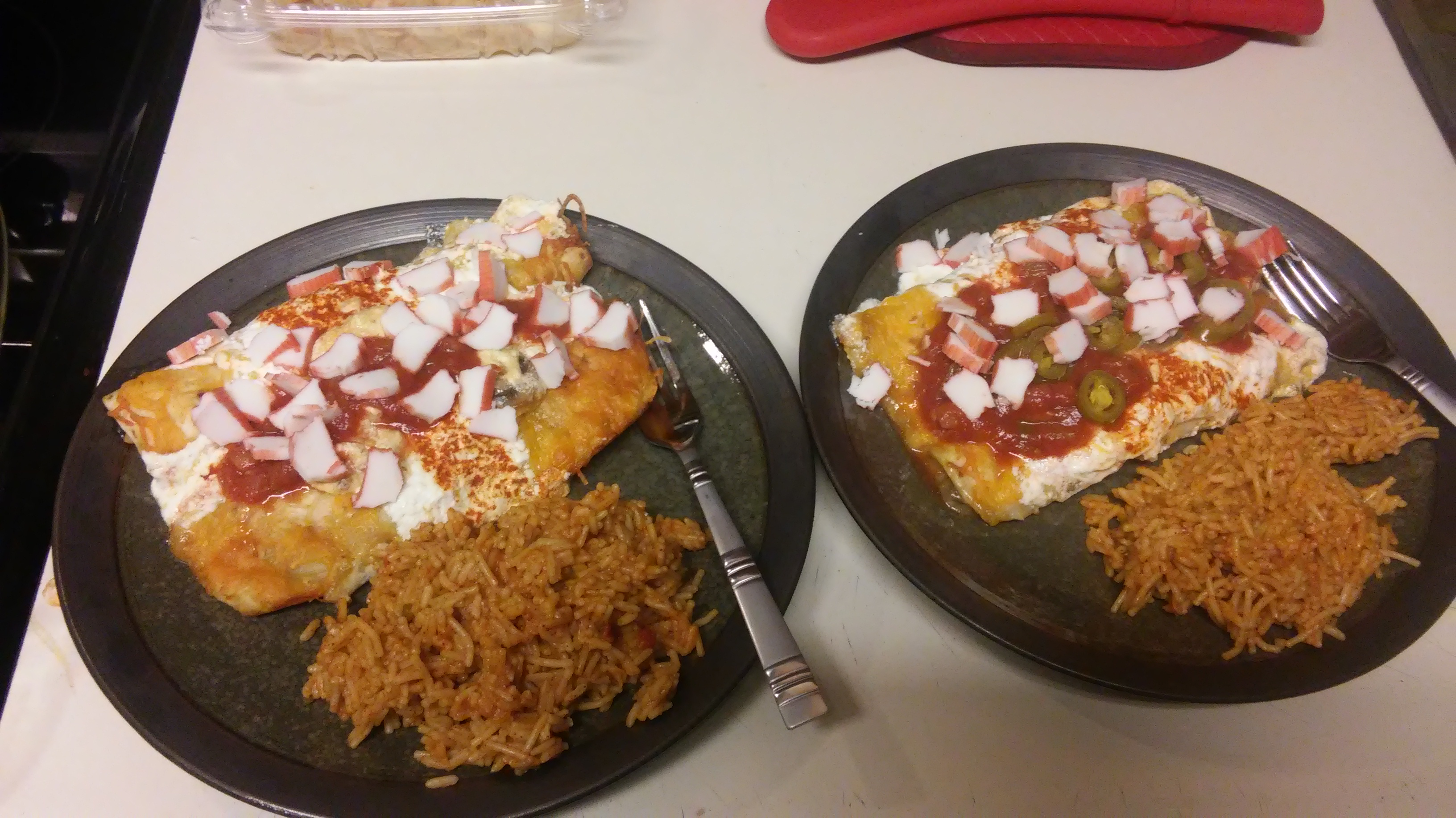 Crab and Mushroom Enchiladas James Mackie Chandler