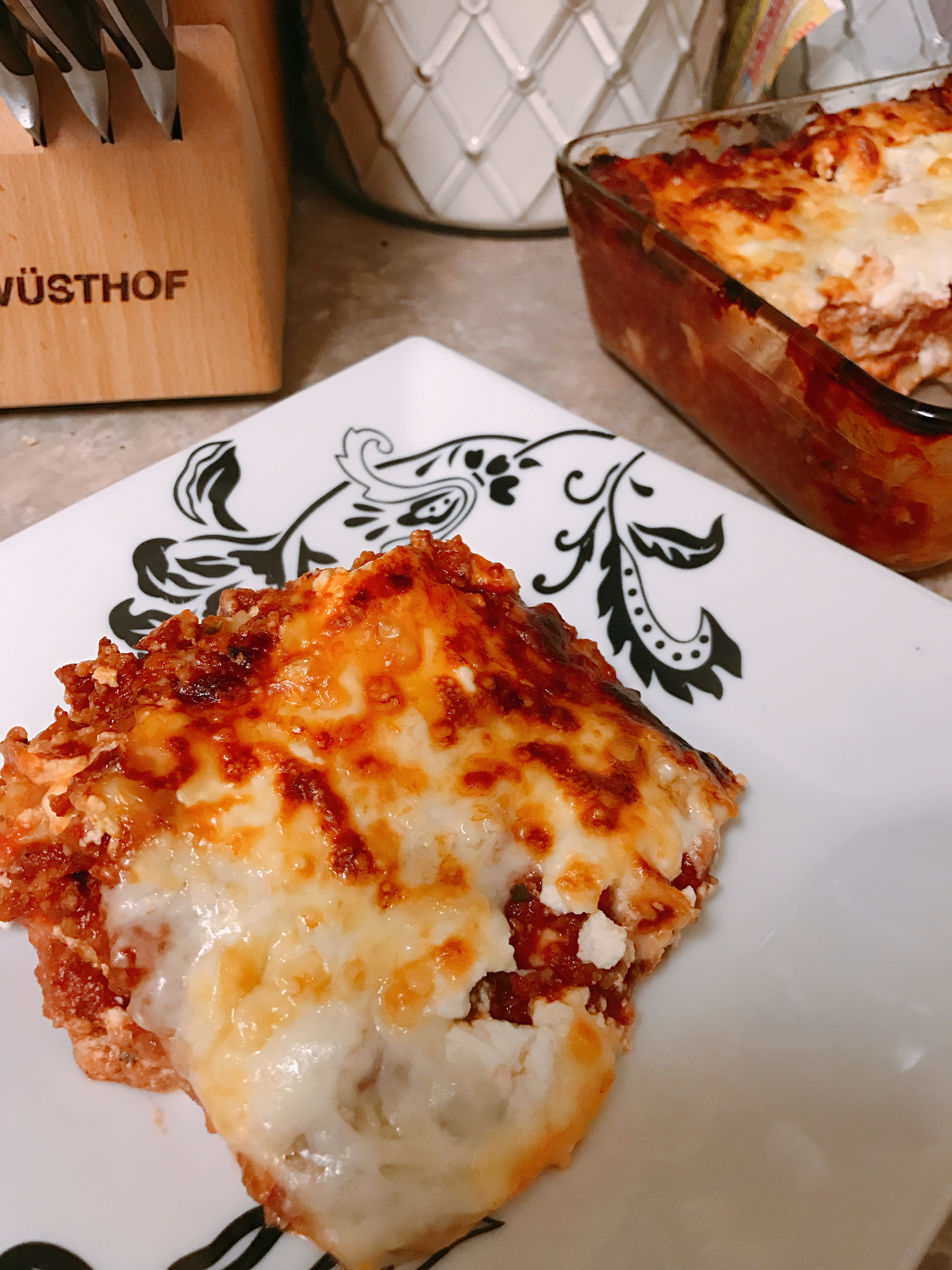 Paula's Lasagna thedailygourmet