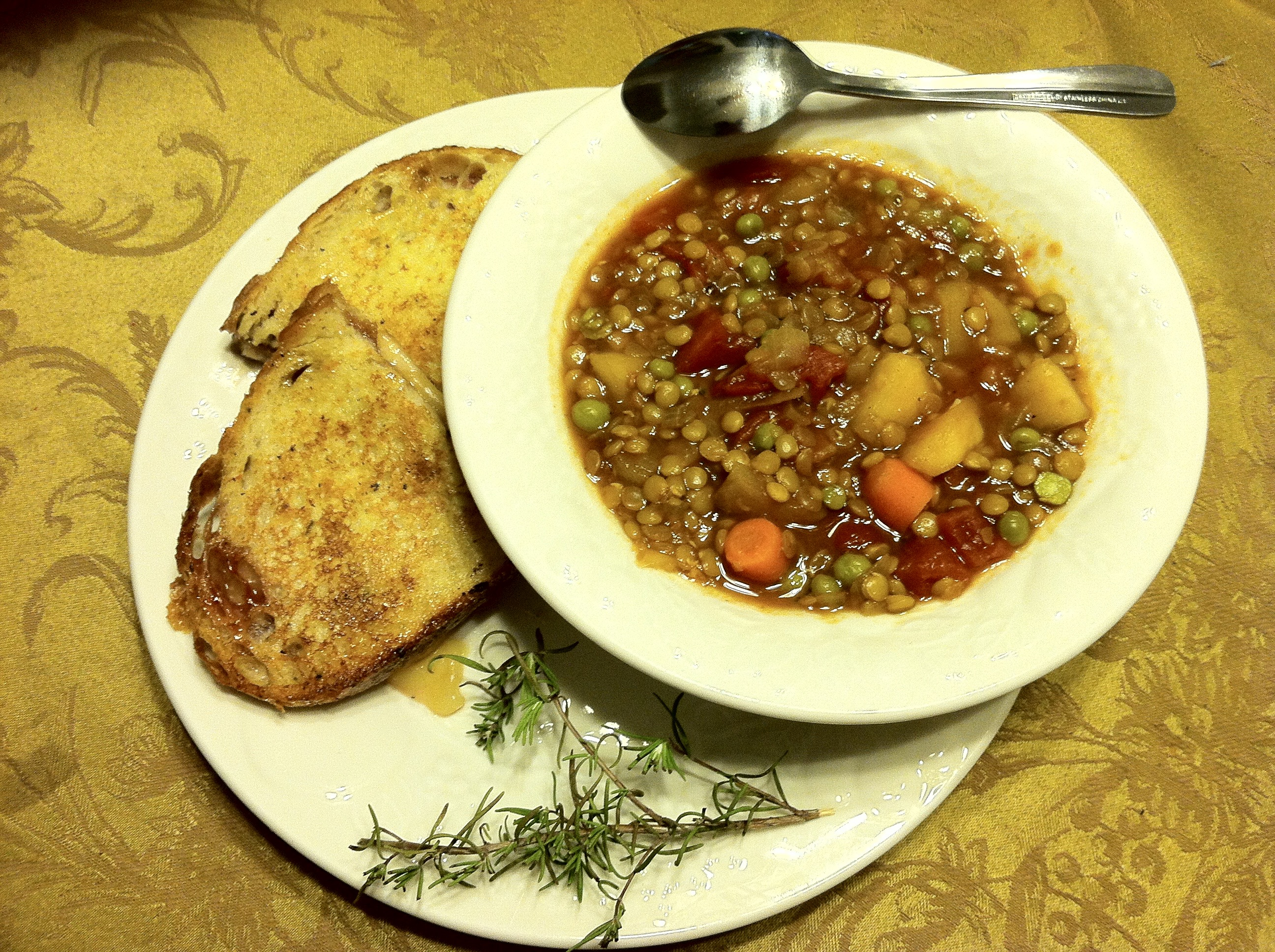 Argentine Lentil Stew dredre
