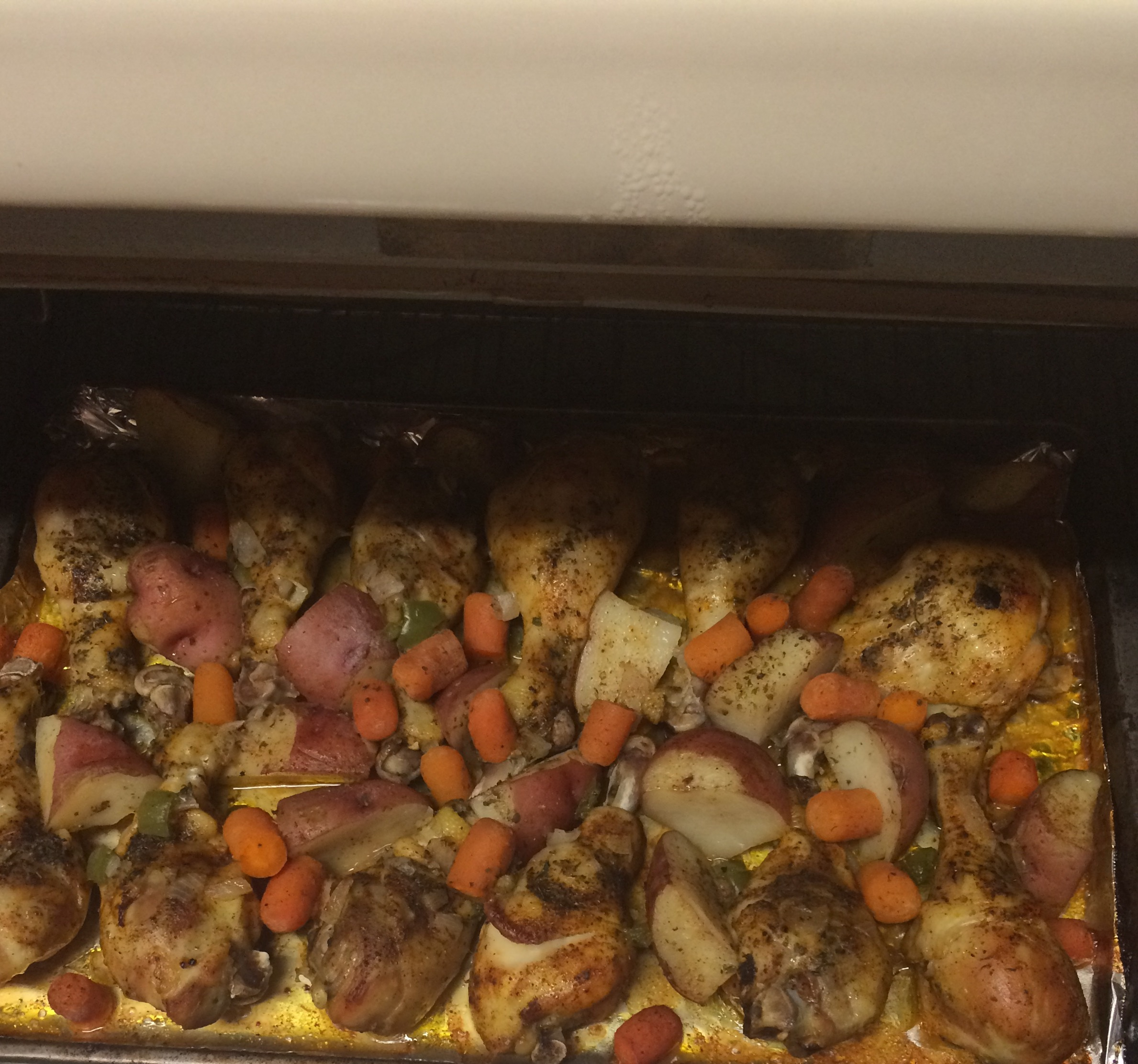 Emily's Herb Roasted Chicken and Vegetables Tawanna Houston