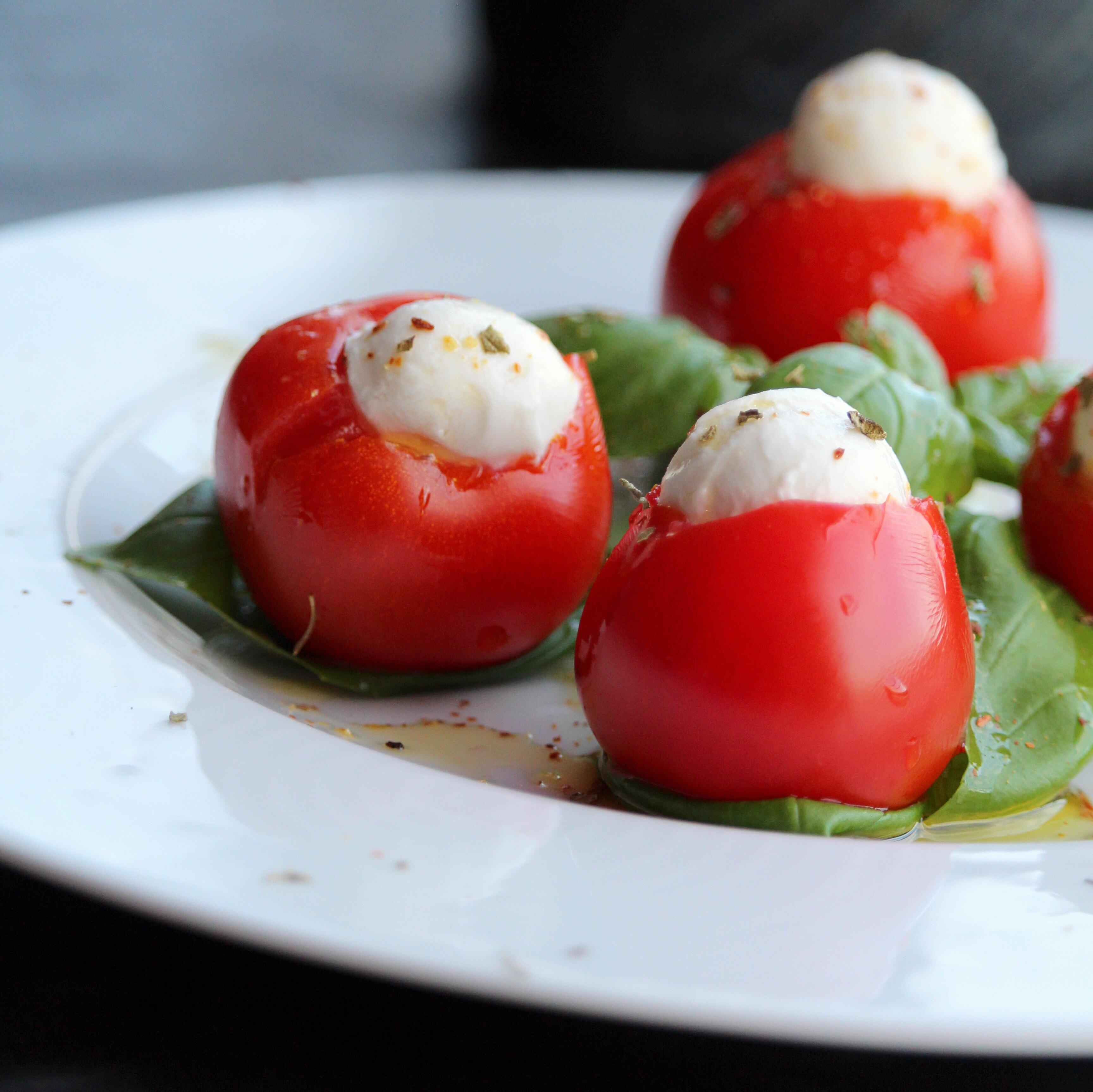 Fresh Mozzarella Stuffed Cherry Peppers