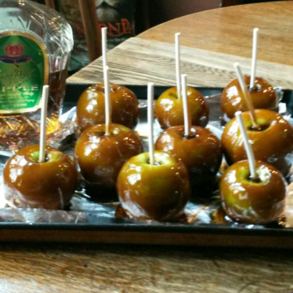 Bourbon Candy Apples