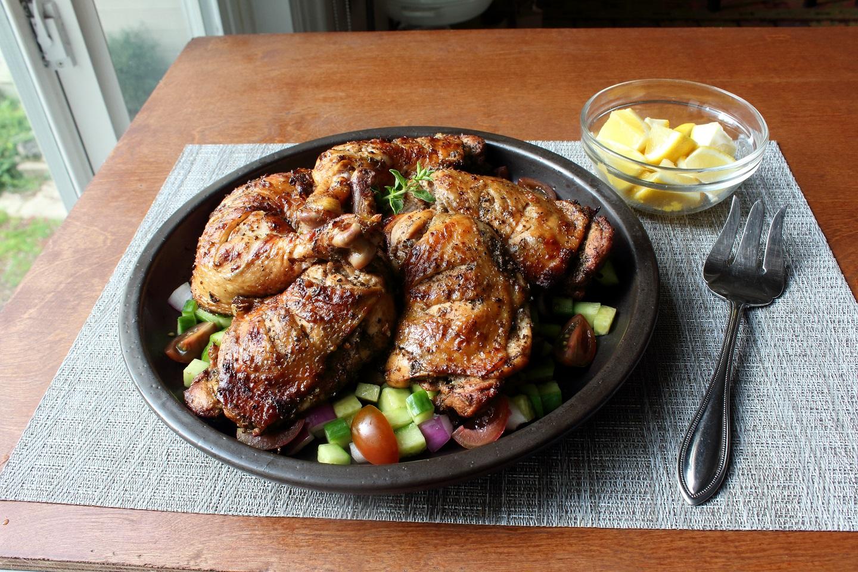 Grilled Greek Chicken Chef John