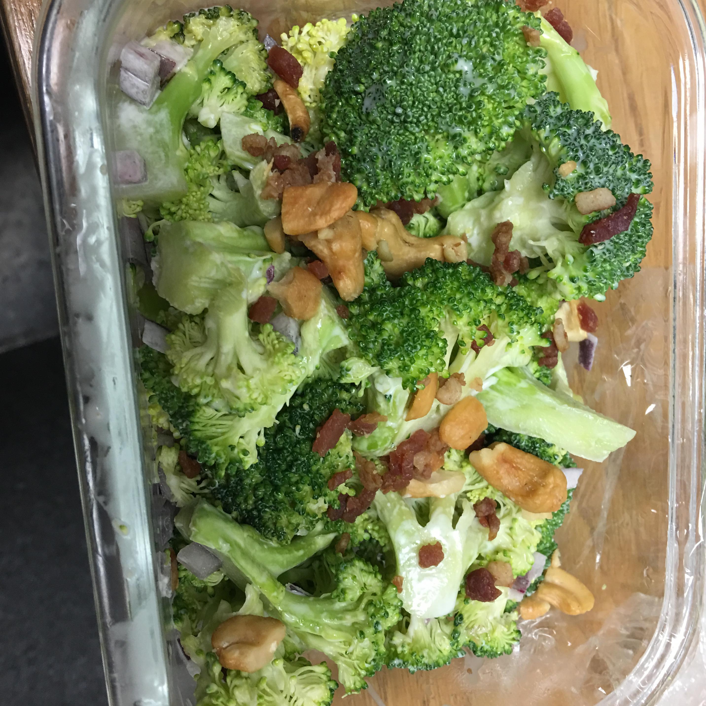 Broccoli Cashew Salad Viveats